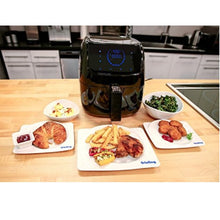 Frieling Caso 13172 Electric Low-Fat Hot Air Fryer, Black