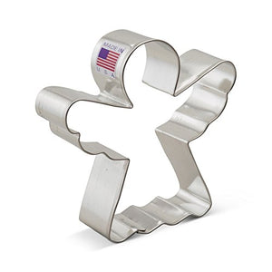 Ann Clark Stainless Steel Cookie Cutter - Angel 4 x 4