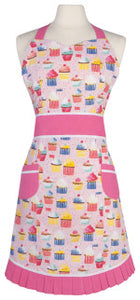"Now Designs Apron ""betty"" cupcakes, 100% cotton 30 x 34 inch"