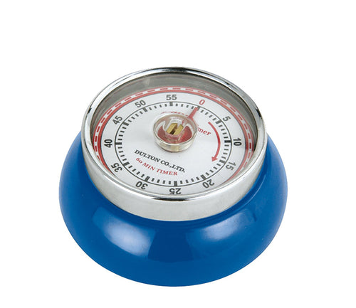 Frieling Zassenhaus Retro Collection Kitchen Timer - Royal Blue