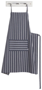Now Designs, Mighty Butcher Stripe, Navy Blue 38 x 38
