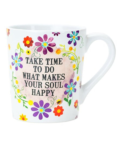 Boston Warehouse Mug- Happy Soul