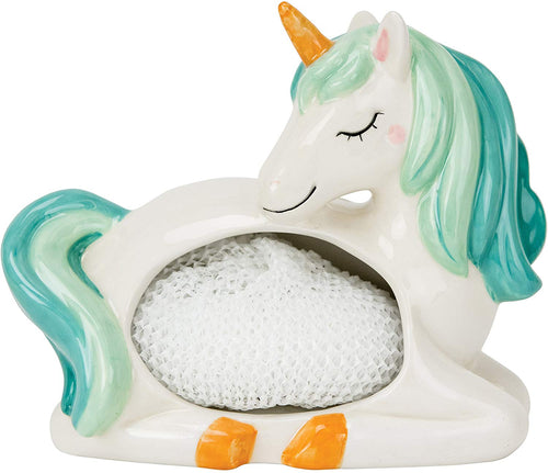 Boston Warehouse Scrubby Holder- Unicorn