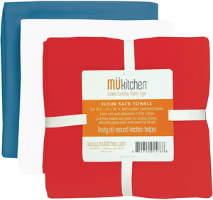 MUkitchen Patriot Towel Set of 3