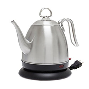 "Chantal ""The Mia Ekettle""  Electric Water Kettle - Brushed Stainle Steel"