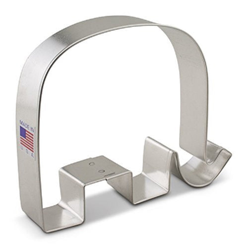 Ann Clark Stainless Steel Cookie Cutter - GOP Elephant 4 x5