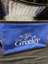 City of Greeley Lunch Bag, Blue