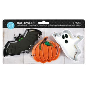 R&M International, Halloween Cookie Cutters, 3 piece