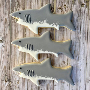Ann Clark Stainless Steel Cookie Cutter - Shark