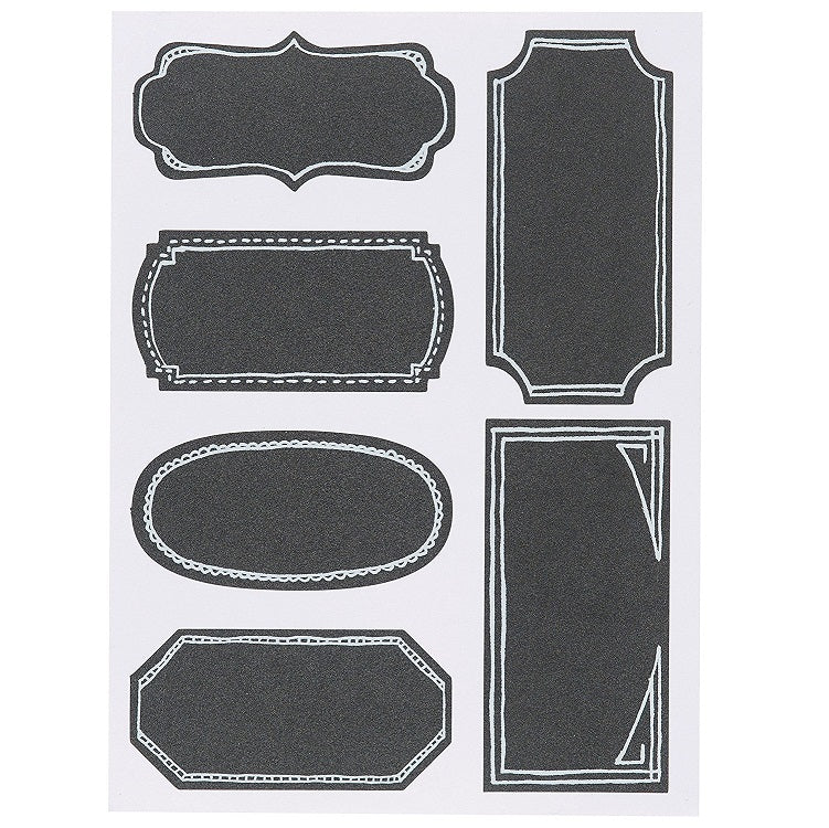 Now Design Chalkboard Labels-18 Count