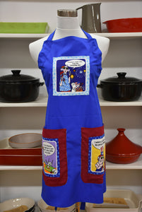 Maxine on Stars and Stripes Apron