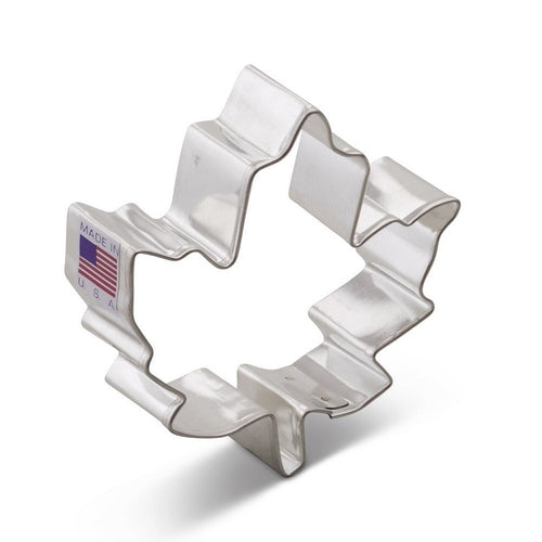 Ann Clark Stainless Steel Cookie Cutter - Maple Leaf 4 x 4