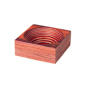 Island Bamboo Pakka Pinching Bowl - Red