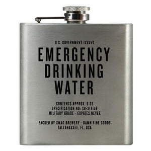 Swag Brewery- Emergency Drinking Water Flask
