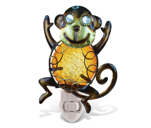 Puzzled Night Light - Monkey