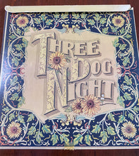 THREE DOG NIGHT SEVEN SEPARATE FOOLS LP Vinyl 1972 • COMPLETE W/7 CARDS Dunhill