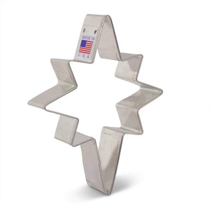 "Ann Clark Stainless Steel Cookie Cutter - Star of Bethlehem 5"" x 4"""