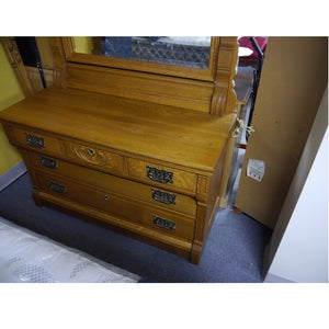 Beautiful Oak Bedroom Set