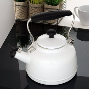 Chantal Vintage Tea Kettle - White