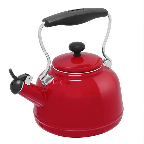 Chantal Vintage Tea Kettle - Red