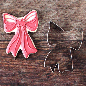 Ann Clark Stainless Steel Cookie Cutter - Ribbon Bow
