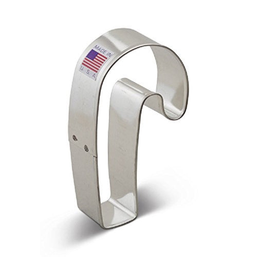 Ann Clark Stainless Steel Cookie Cutter - Candy Cane