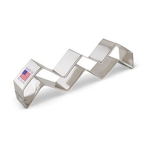 Ann Clark Stainless Steel Cookie Cutter - Chevron