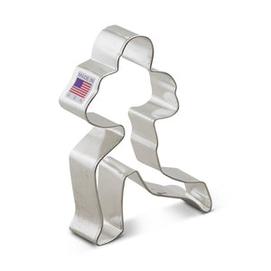Ann Clark Stainless Steel Cookie Cutter - Football Player