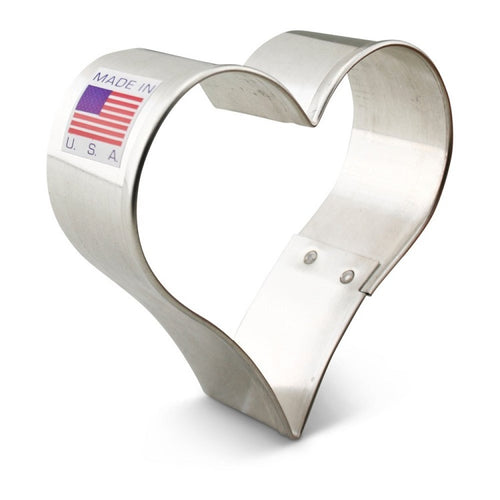 Ann Clark Stainless Steel Cookie Cutter - Heart