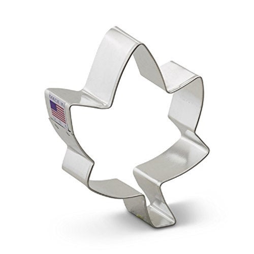 Ann Clark Stainless Steel Cookie Cutter - Ivy Leaf