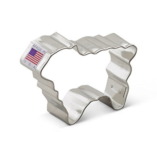 Ann Clark Stainless Steel Cookie Cutter - Lamb