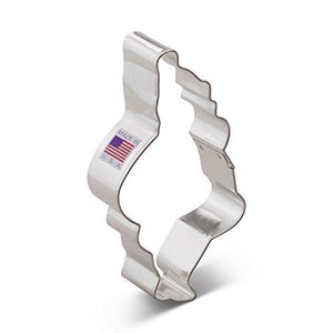 Ann Clark Stainless Steel Cookie Cutter - Santa