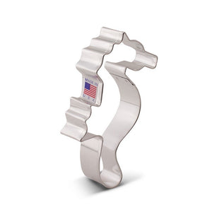Ann Clark Stainless Steel Cookie Cutter - Seahorse