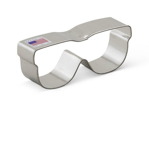 Ann Clark Stainless Steel Cookie Cutter - Sunglasses 4 x 2