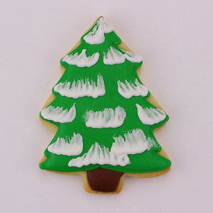 Cookie Cutters Tree Snow Covered