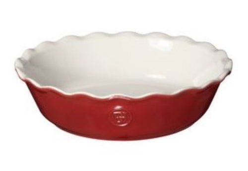 Emile Henry 9 Inch Pie Dish-Rouge