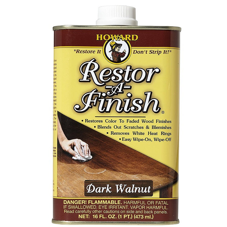 Howard's Restor-A-Finish Dark Walnut Tone