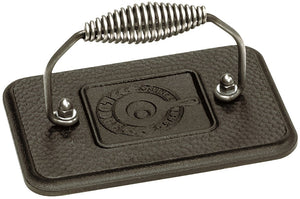 "Lodge Cast Iron Grill Press 6.75""x4.5"""