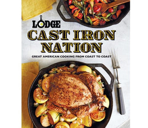 Lodge Cast Iron Nation Cookbook-CBCIN