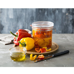 Luigi Bormioli Glass Storage Container-25.25 oz