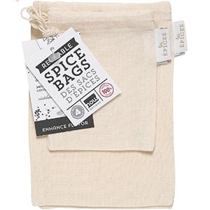 Now Design Spice Bags-Set of 4