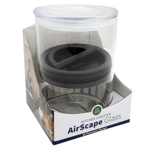 Planetary Design Airscape Storage Container-Clear Glass-4""