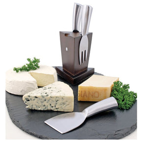Swissmar 3 Piece Mini Cheese Knife Block Set