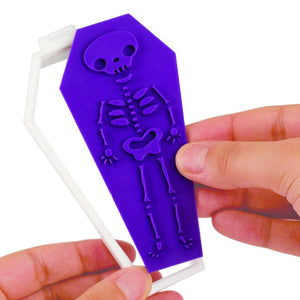 Tovolo Coffin Cookie Cutter, 6 Unique Designs