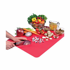 Tovolo Plastic Cutting Mat-Candy Apple Red