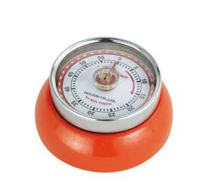 Frieling Zassenhaus Retro Collection Kitchen Timer - Orange
