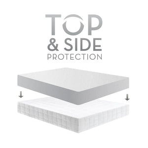 Malouf Sleep Tite Five 5ided Omniphase and Tencel Mattress Protector - King