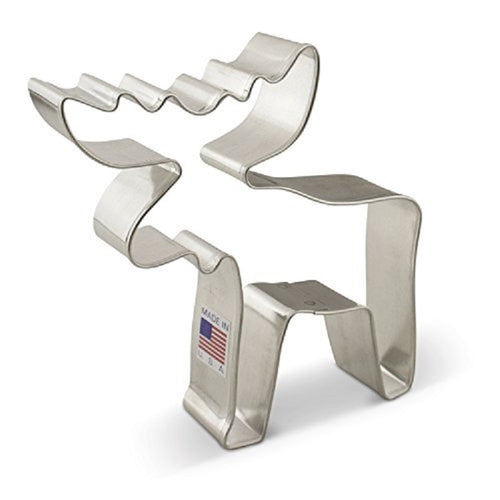 Ann Clark Stainless Steel Cookie Cutter - Moose 5 x 4