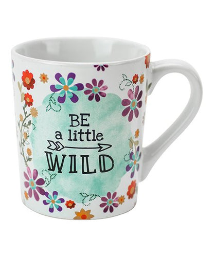 Boston Warehouse Mug-Be a Little Wild