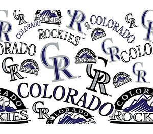 Tervis Tumblers-MLB Colorado Rockies All Over-24oz